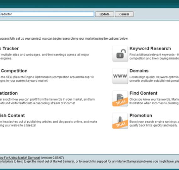 Ejemplo de estudio de mercado para una web